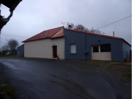 Bardage sur habitation au Pin en Mauges (49)