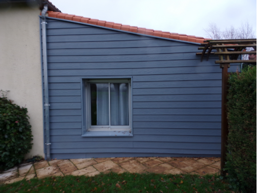 Habillage mur extrieur dcoration habillage fenetre de for Habillage fenetre baie window