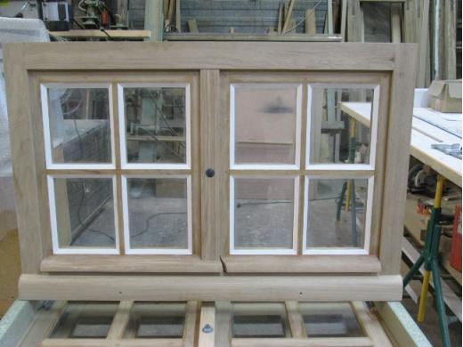 Fenêtre en chêne à Tiffauges (85)