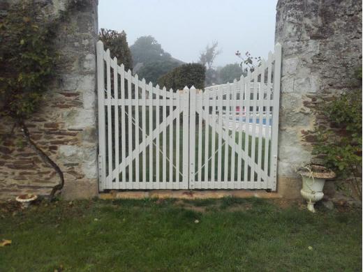Restauration de portail à Champtocé sur Loire (49)