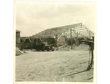 Montage du bâtiment agricole